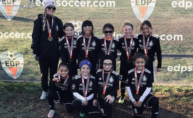 U9G NJ Stallions 10 Wayne Utd team Finish in 1st Place @ EDP Fall Classic!